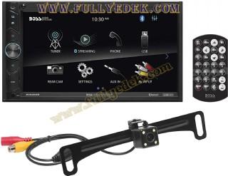 Boss Multimedya Double Teyp Bluetooth, Usb Geri Görüş Kameralı
