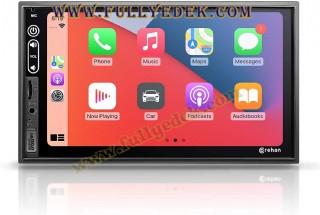 Double Multimedya Stereo Teyp - 7 İnç Dokunmatik Ekran Bluetooth