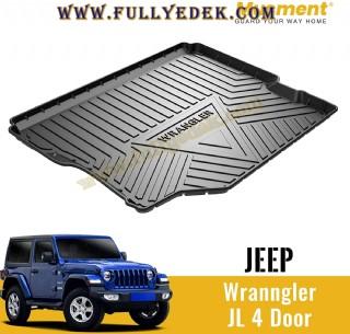 Jeep Wrangler Jl Bagaj Havuzu Özel Tam Kapanan Siyah Bagaj Paspası