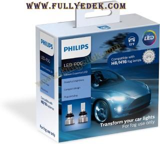 Philips Otomotiv Aydınlatma H8 H16 Ultinon Temel Led Sis Farı 2 Adet